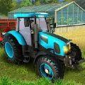 真正的农用拖拉机