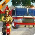 消防车救援模拟器3D