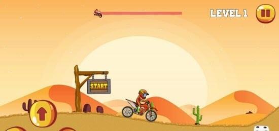 迷你摩托车比赛
