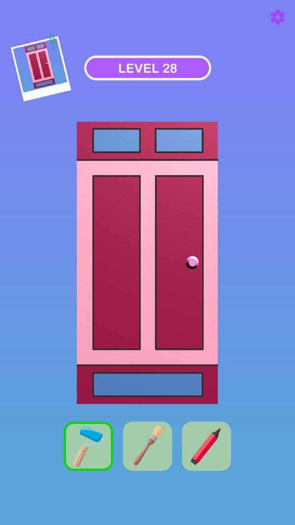 创意防盗门