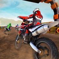 泥土路摩托车赛